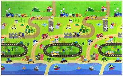 large baby play mat in happy village