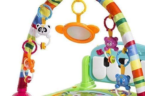 MooToys Kick Newborn Toy for Baby 36 Month, Play, and Activity Toys, Activity for Blue