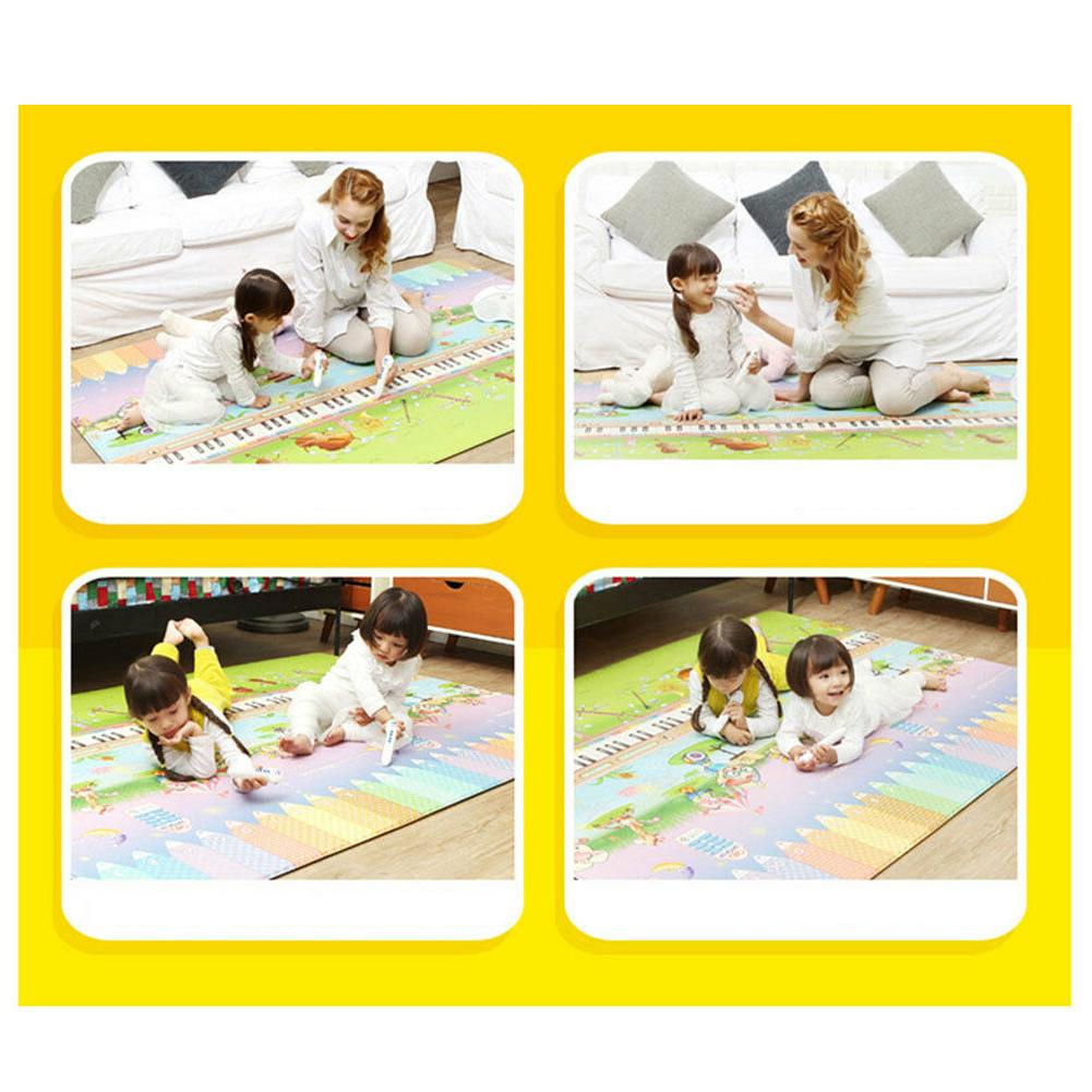 Musical Mat for Baby Waterproof Extra Large Playmat