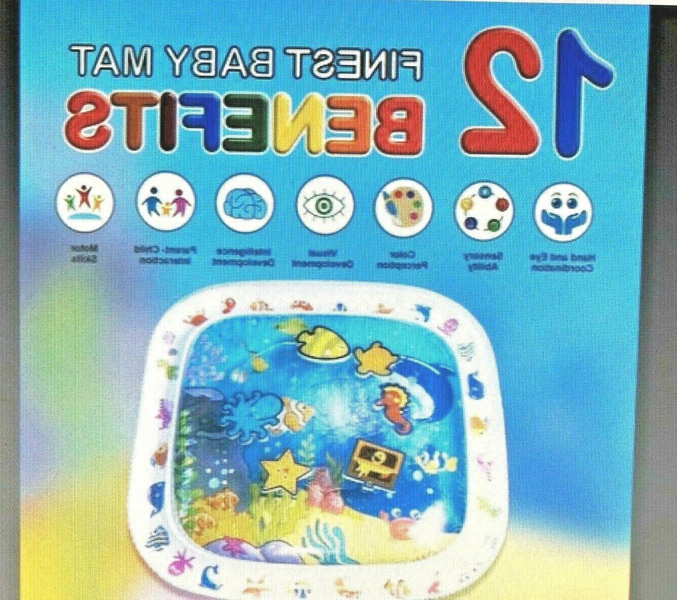 NEW Inflatable Play Time floor Activity Gym 22X22