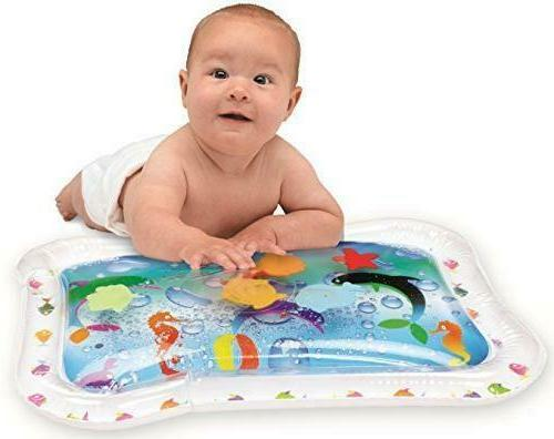new baby inflatable water play mat tummy