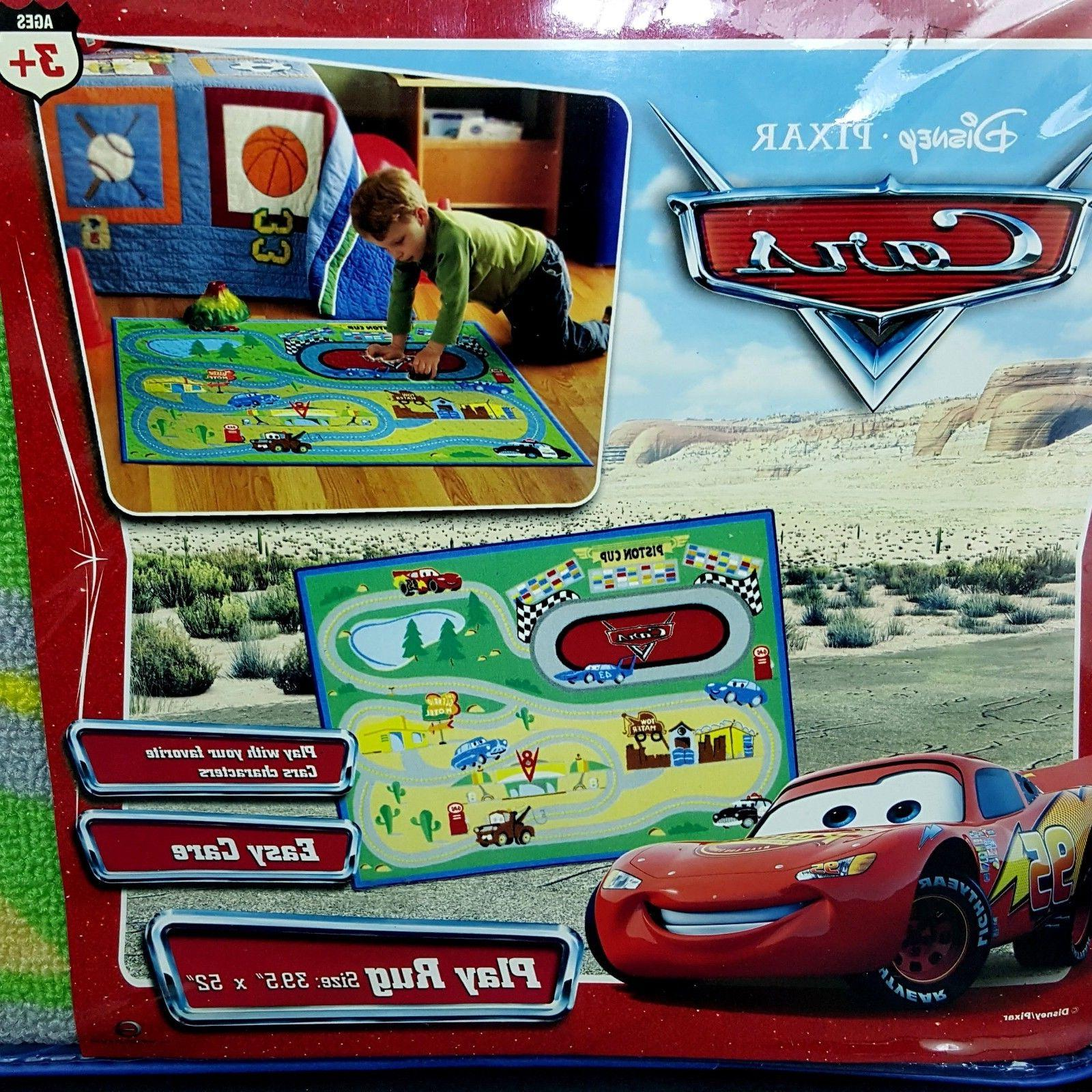 NEW Movie Play Racetrack Mat 39x52 Sealed