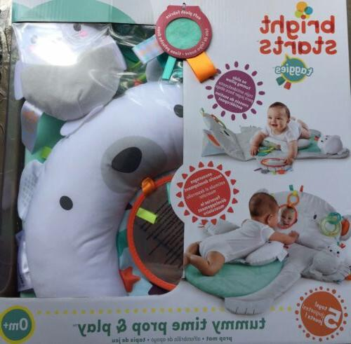 new in box tummy time prop play
