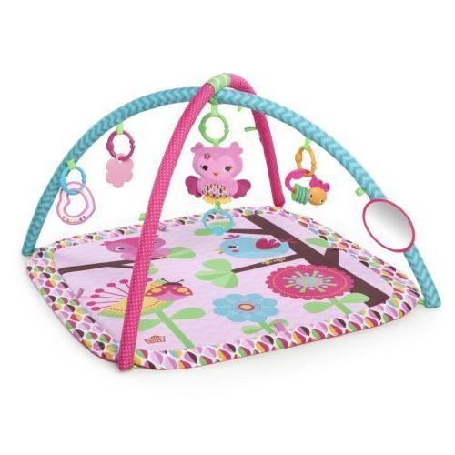new pretty in pink activity baby gym