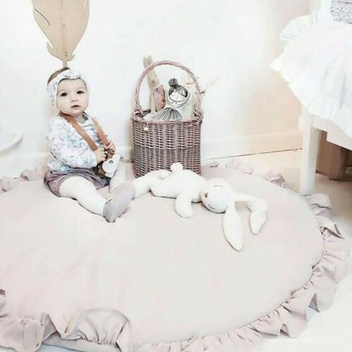 Soft Cotton Baby Kids Game Gym Activity Play Mat Crawling Wi
