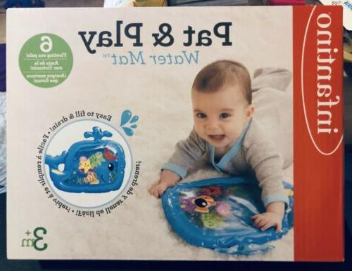 nib baby pat and play water mat