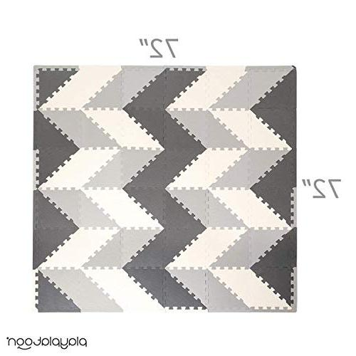 Non-Toxic 96 Triangle - Comfortable Cushiony Puzzle for &