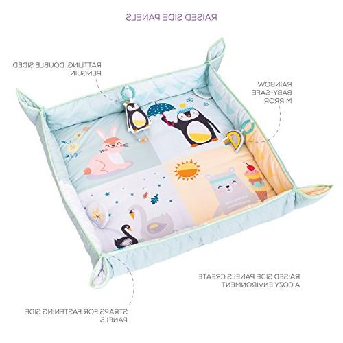 Taf Toys North Pole 4 Baby Mat | Side Panels Easier Development and Parenting, Extra &
