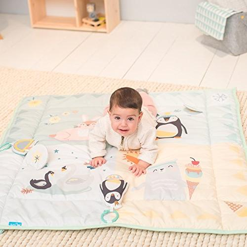 Taf 4 Seasons Mat | with Side Panels for Development Easier Extra Soft, Cozy