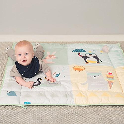 4 Baby Mat Side for Development and Easier &
