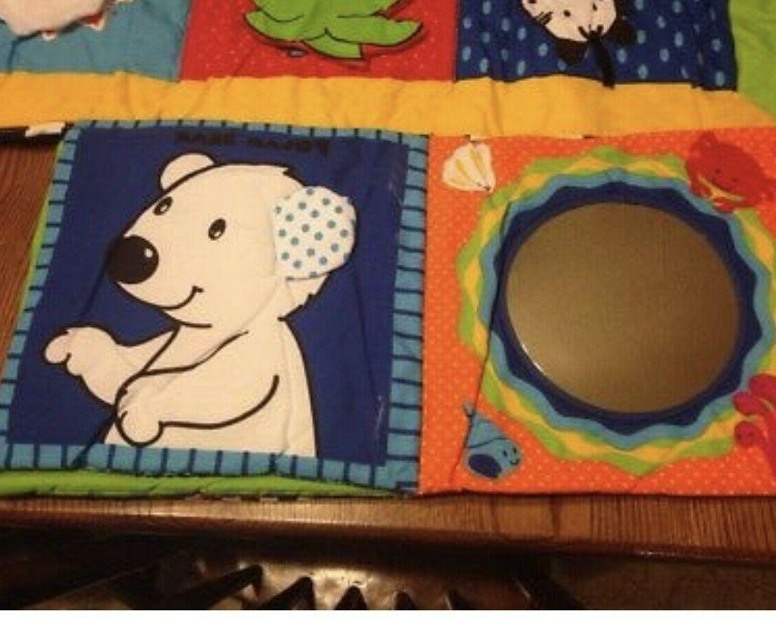 Ocean Play Mat with touch and book RTL