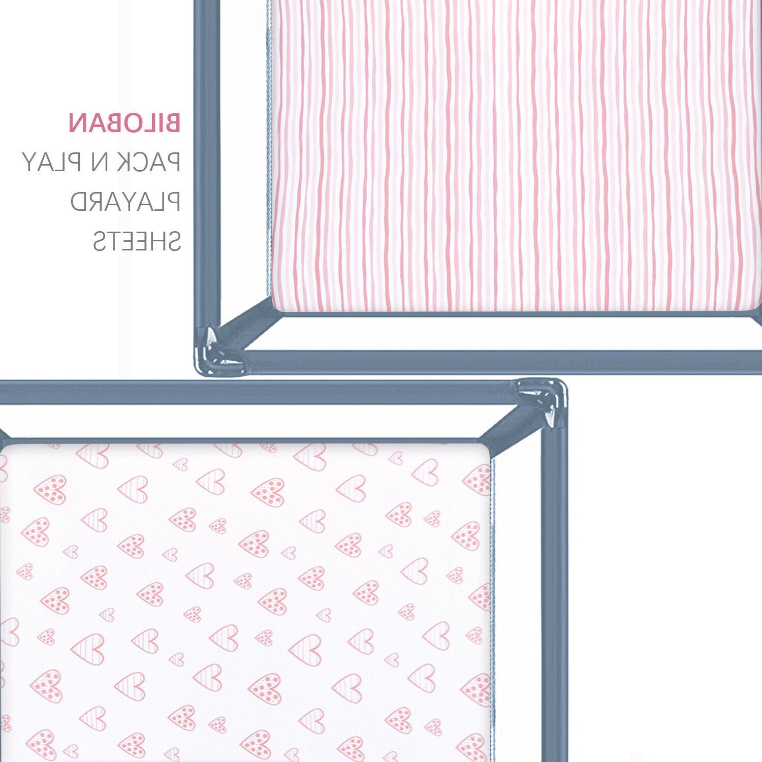 """Pack N Sheets for Square Playard 100% Cotton 36''x36"""" Pack"""