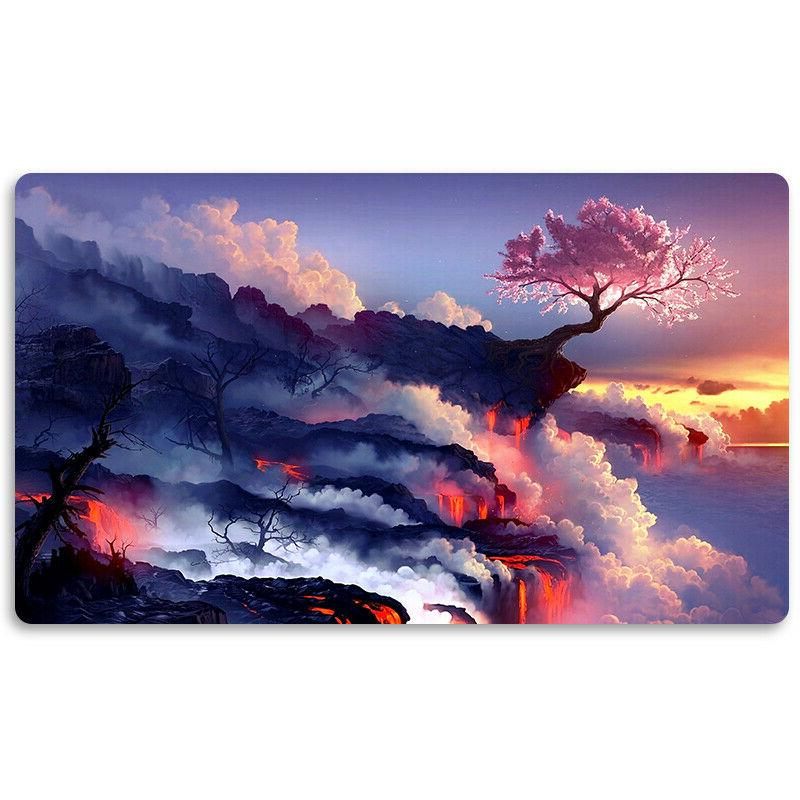 pink tree board game mtg playmat games
