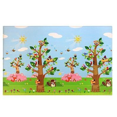 play mat birds trees