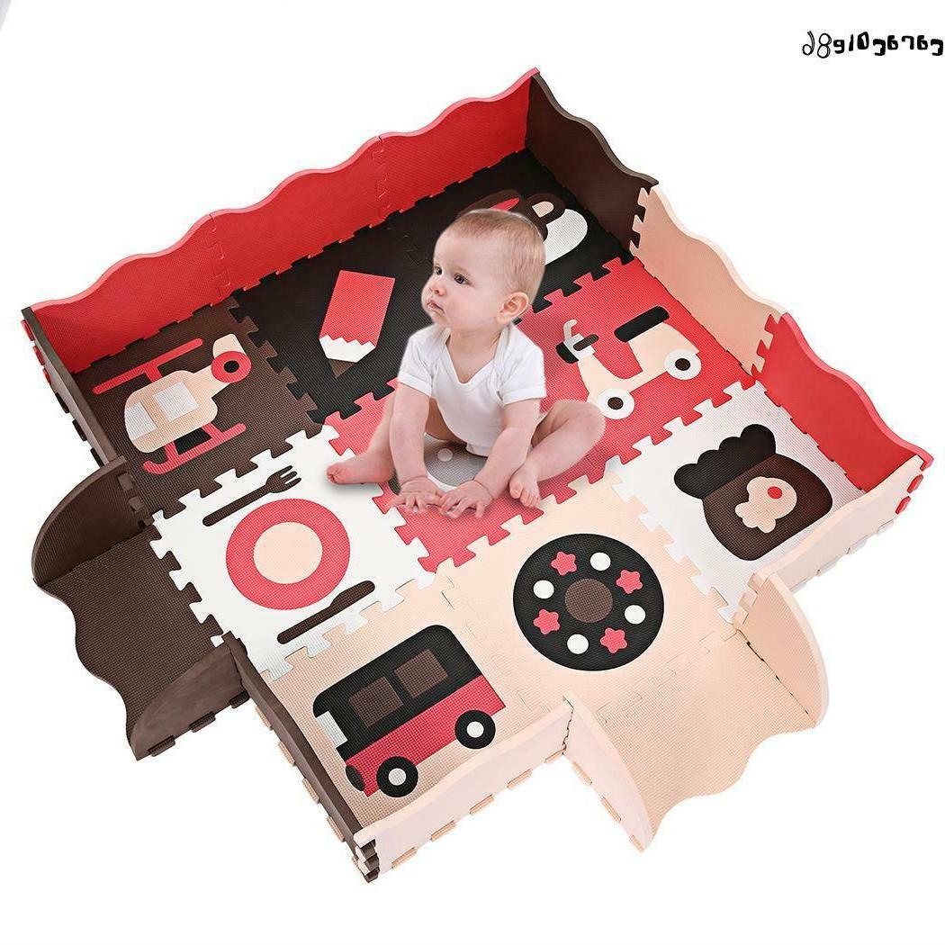 Play Mat Non-Toxic Extra Large Fence Crawling HY