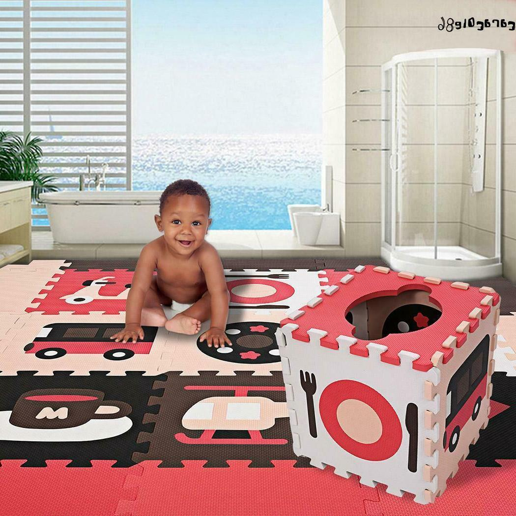 play mat kids baby non toxic extra