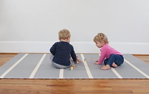 Baby | One-Piece Reversible Foam Floor Mat Large Eco-Friendly x | | Toddlers |