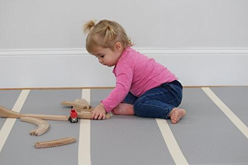 Baby One-Piece Reversible Foam Mat | | Eco-Friendly Extra | | | |