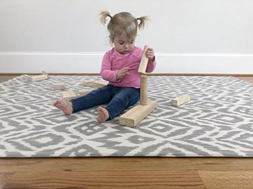 Baby One-Piece Floor Mat Eco-Friendly | Non-Toxic 6.5ft x | | Toddlers |