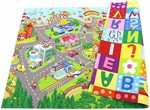 play mat playful collection zoo town open