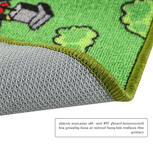 "JACKSON Kid for Cars,Car Carpet with Non-Slip 52""x Play Mat and Classroom,Safe Play and"