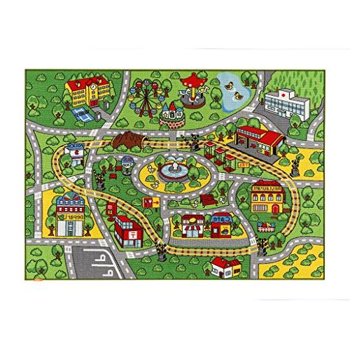 "JACKSON for Toy Rug Carpet with Backing, 52""x Car Rug Play for Kidrooms,Playroom and Classroom,Safe Play Rug and"