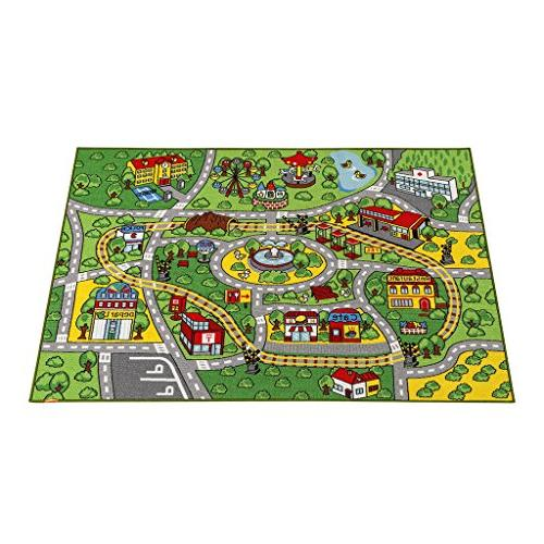 "JACKSON Large Kid for Carpet Non-Slip 52""x Car Play Kidrooms,Playroom and and Play and"