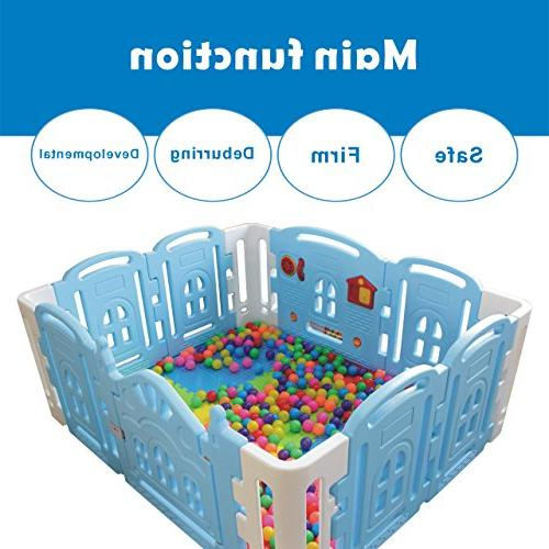 Baby Kids Centre Play Yard Outdoor with Panel