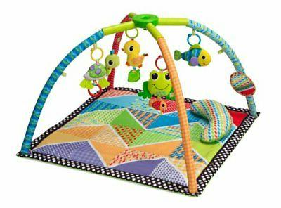 pond pals twist and fold activity gym