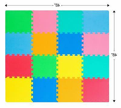 ProSource Puzzle Foam Play - 36 or tiles