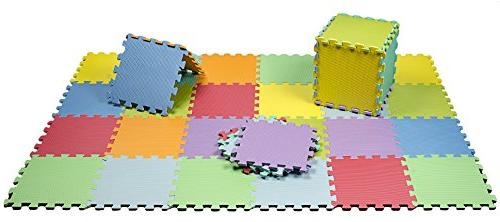 HemingWeigh Kid's Multicolored Puzzle Play