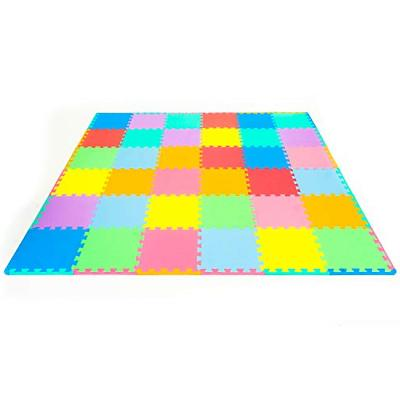 ProSource Puzzle Play Mat for - 36 tiles with edges