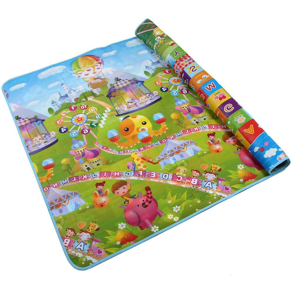 7971 inches extra large baby crawling mat
