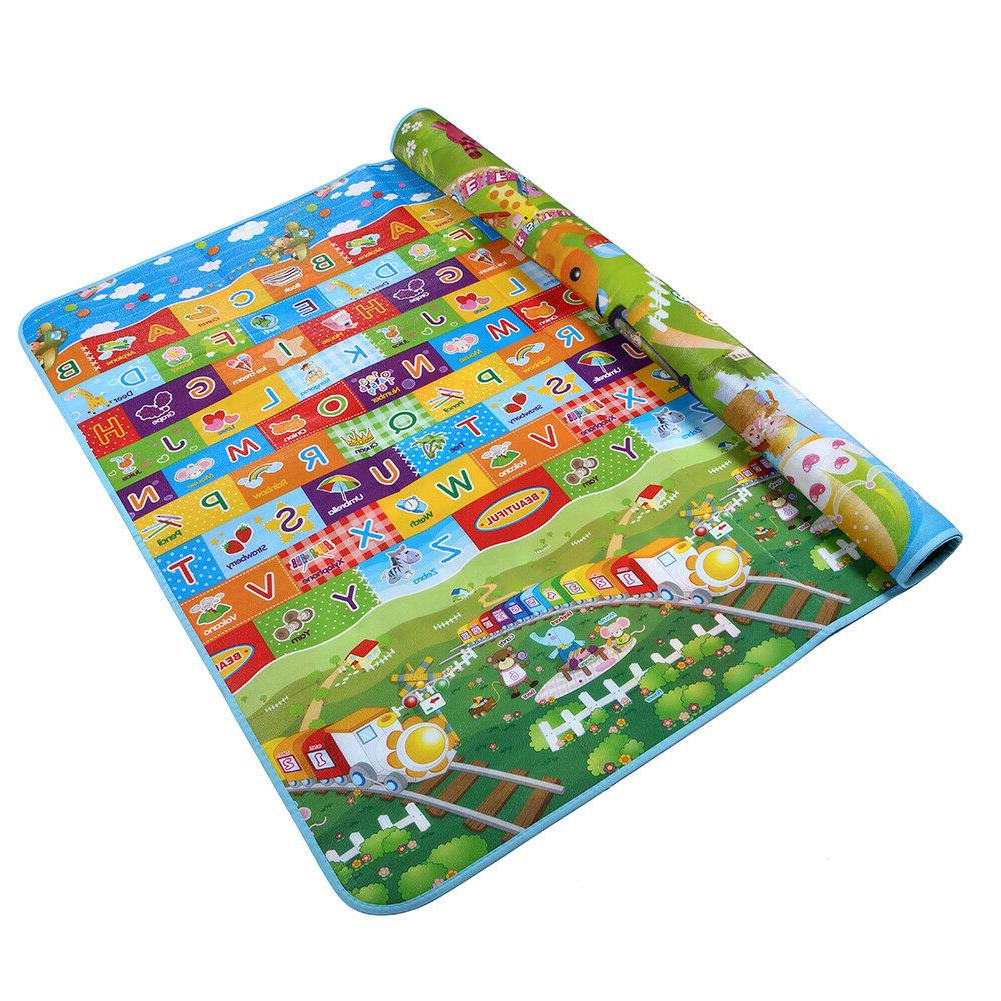 reversible kids activity mat baby and children