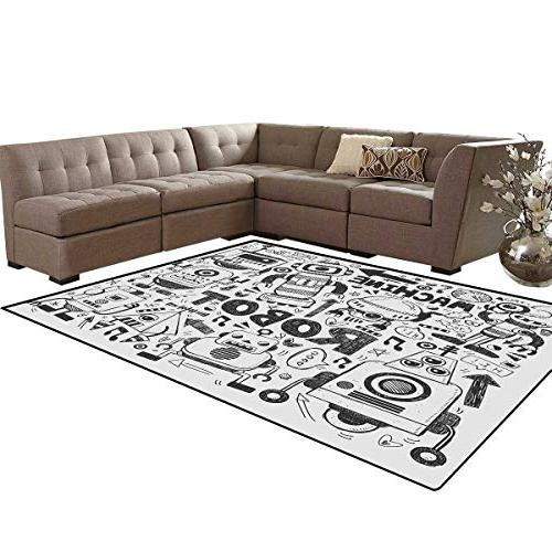 robot kids carpet play