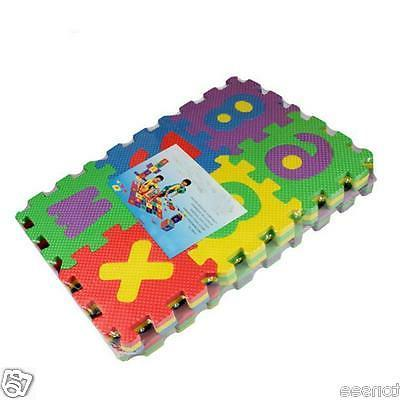 36PCs Baby Alphabet Number Foam Playing Puzzle