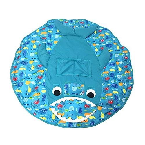 PER 3in1 Shopping Cart Chair Cover/Play Mat Safety Harness Universal Foldable