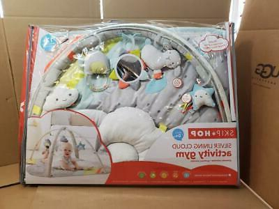 silver lining cloud activity gym infant toddler