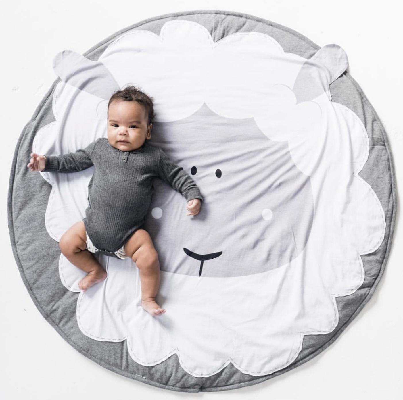Soft Cotton Baby Game Activity Play Mat Floor Rug