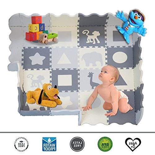 Soft Mat Tiles, Thick Non-Toxic, Mat | Baby Nurseries | Infant, Baby,