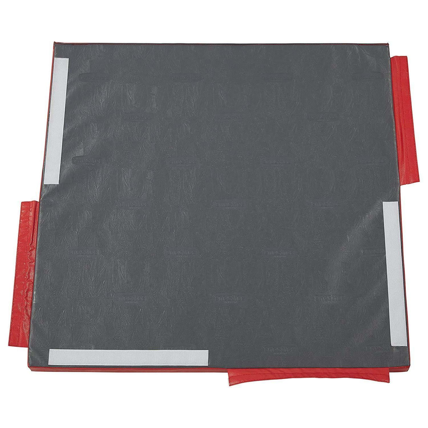 ECR4Kids SoftZone Free Play Mat, Modular for - Side - Red