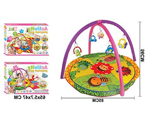 Lian LifeStyle Baby Gym,Baby Gym, Mat, Time Style