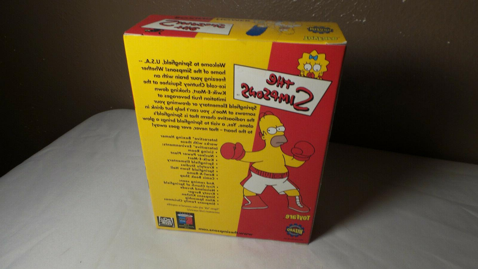 THE SIMPSONS PLAYMATES BOXING HOMER MAIL AWAY NEW 2001