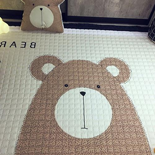 IHEARTYOU Baby Mat Cute Play Carpet Children Room Rugs