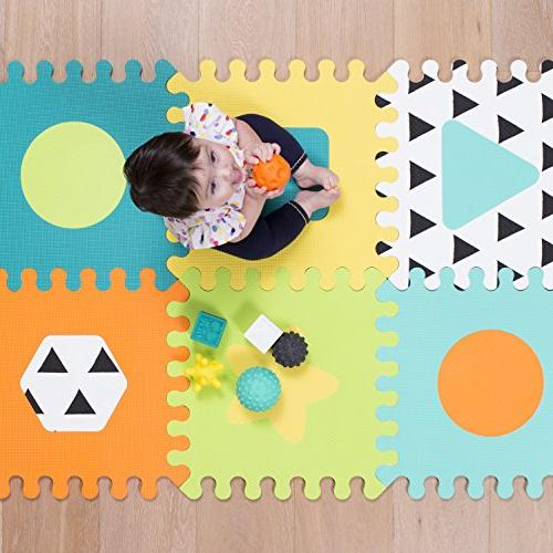 Infantino Topsy Foam Puzzle