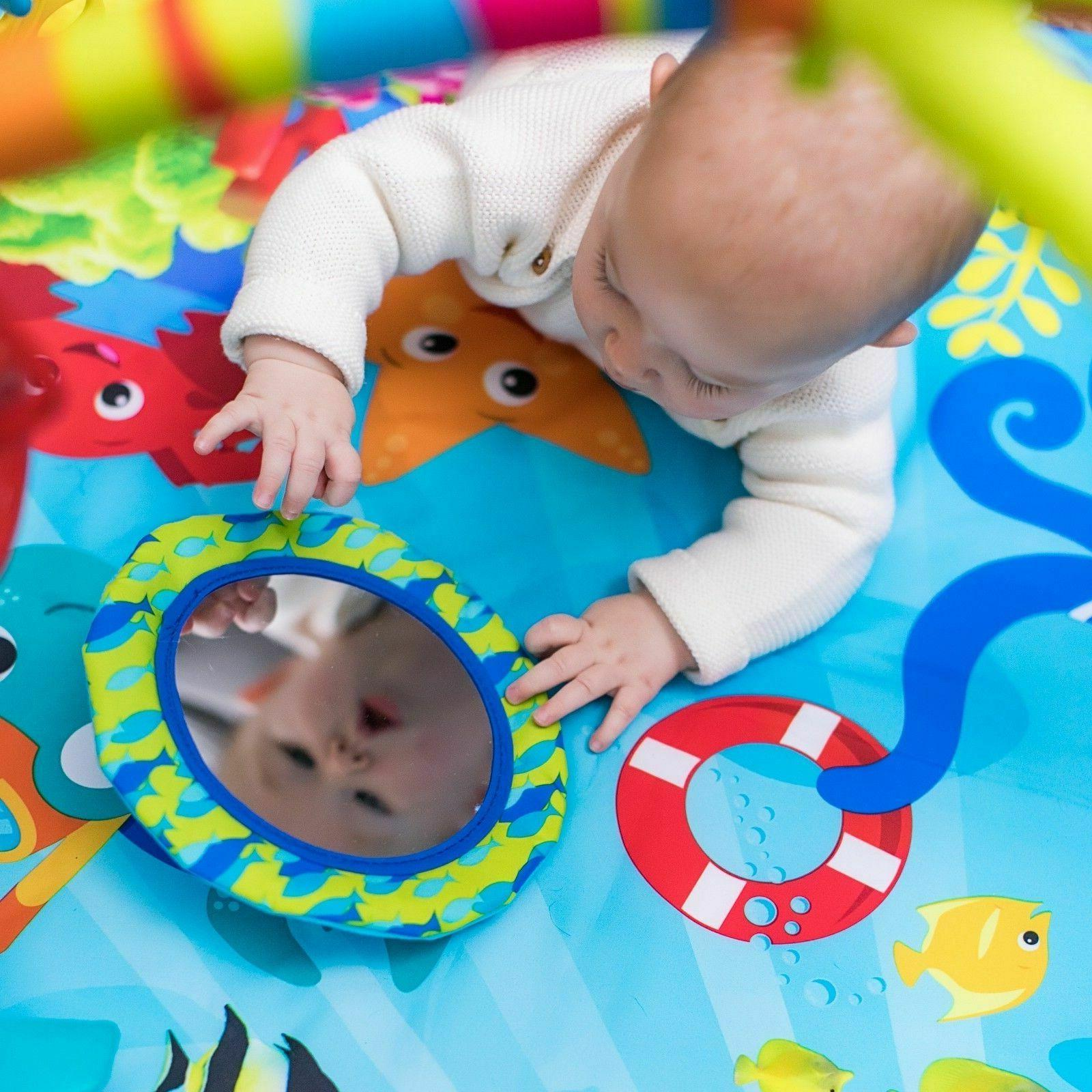 Baby Activity Mat Gym Motion Lights Music Toys