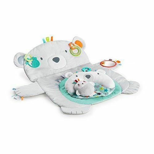 tummy time prop and play baby mat