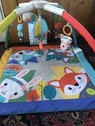 twist and fold activity gym baby gear