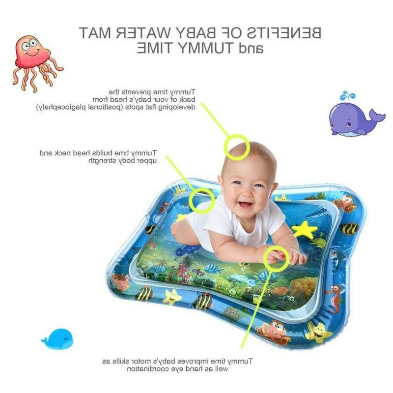 US-Inflatable Baby Water Mat Fun for