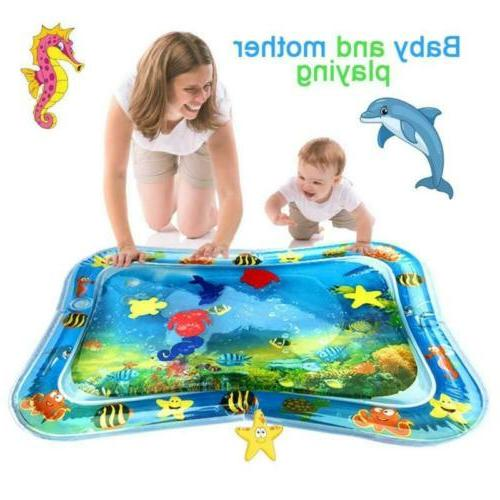 US Inflatable Baby Mat for Kids Children Infants Tummy Time
